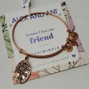 Alex and Ani Friend Because I Love You bracelet